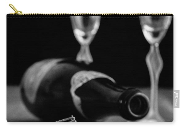 Champagne Bottle Still Life Carry-all Pouch