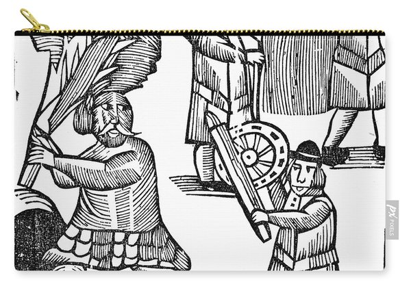 Chapbook Tom Hickathrift Carry-all Pouch