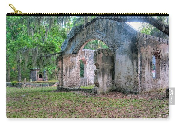 Chapel Of Ease With Tomb Carry-all Pouch