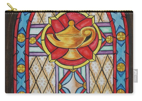 Chapel Window Carry-all Pouch