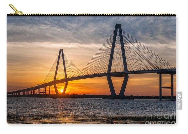 Charleston Sun Setting  Carry-all Pouch