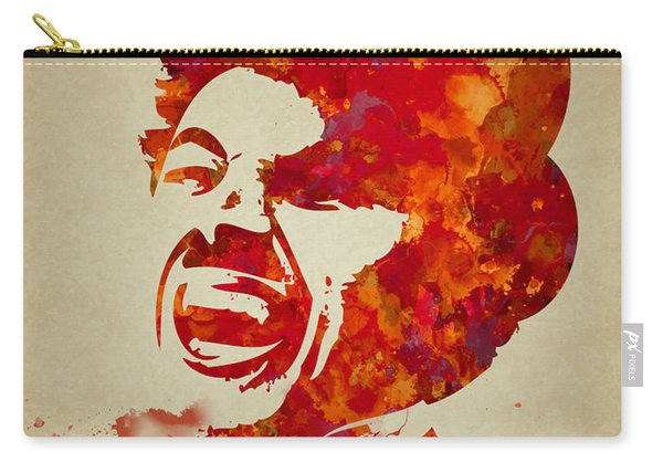 Charlie Chaplin Watercolor Painting Carry-all Pouch