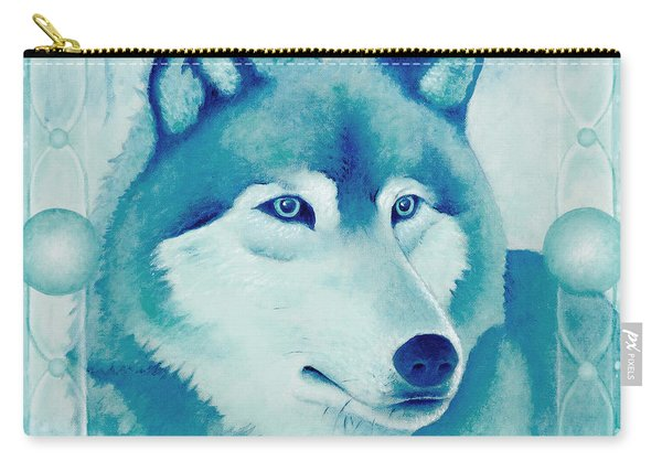 Chasing Wolf Carry-all Pouch