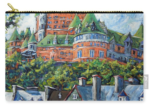 Chateau Frontenac By Prankearts Carry-all Pouch