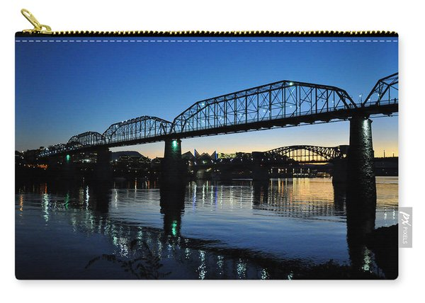 Tennessee River Bridges Chattanooga Carry-all Pouch