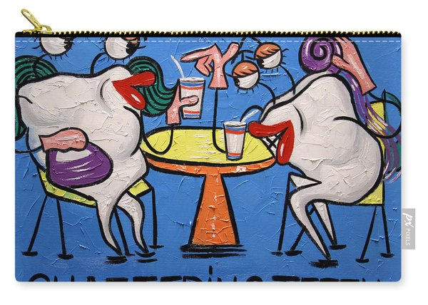 Chattering Teeth Dental Art By Anthony Falbo Carry-all Pouch