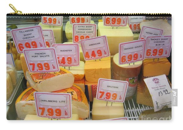 Cheese Display Carry-all Pouch