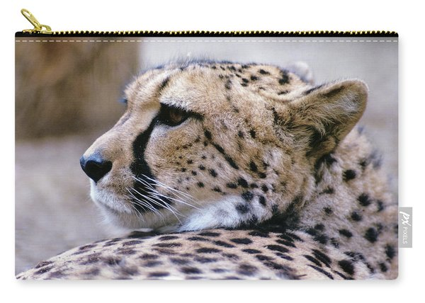 Cheetah Acinonyx Jubatus Africa Carry-all Pouch
