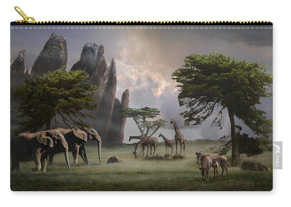 Cherish Our Earth's Creatures Carry-all Pouch