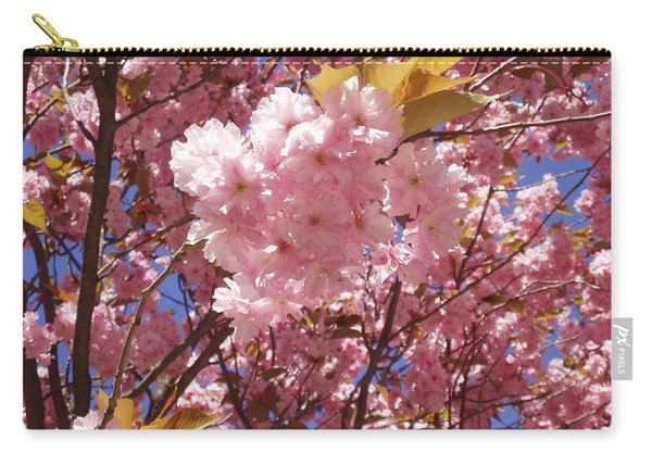 Cherry Trees Blossom Carry-all Pouch