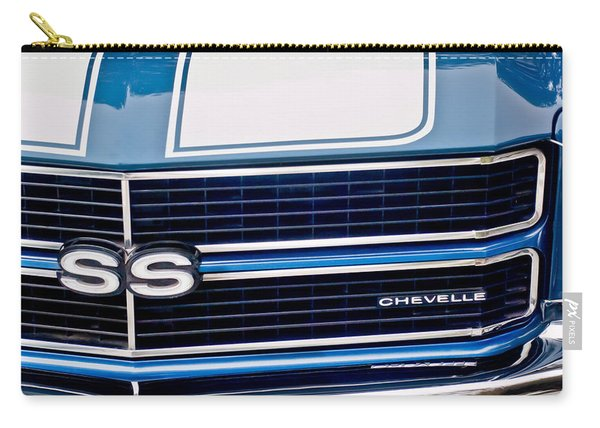 Chevrolet Chevelle Ss Grille Emblem 2 Carry-all Pouch