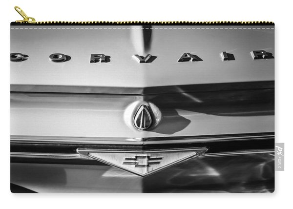 Chevrolet Corvair Emblem -0082bw Carry-all Pouch