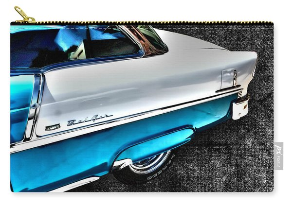 Chevy Bel Air Art 2 Tone Side View Art 1 Carry-all Pouch