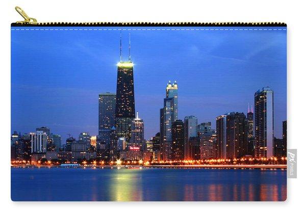 Chicago Dusk Skyline Hancock Carry-all Pouch