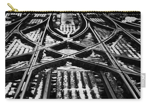 Chicago 'l' Tracks Winter Carry-all Pouch