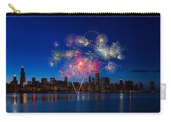 Chicago Lakefront Fireworks Carry-all Pouch