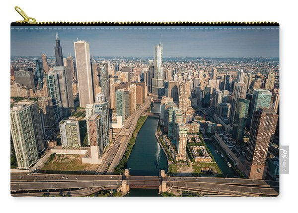 Chicago River Aloft Carry-all Pouch
