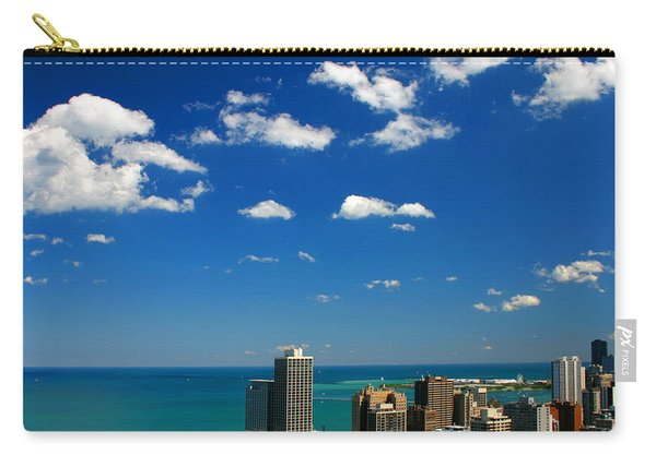 Chicago Skyline Big Sky Lake Carry-all Pouch