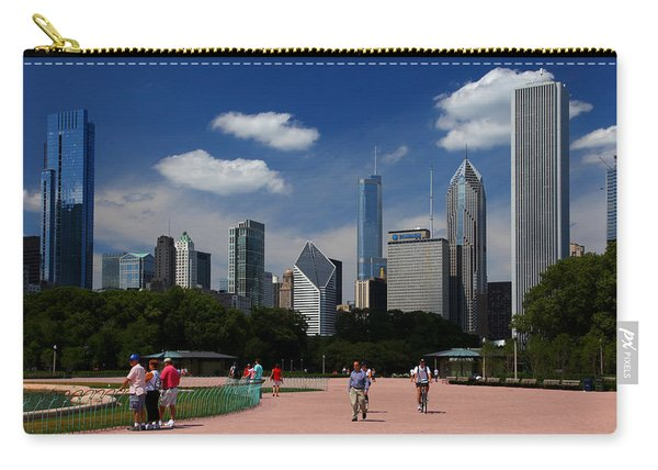 Chicago Skyline Grant Park Carry-all Pouch