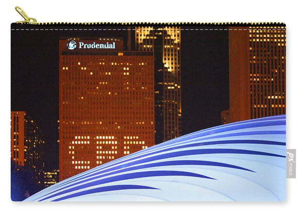 Chicago Skyline Orb Carry-all Pouch