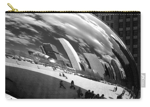 Chicago Skyline Reflected Bean Carry-all Pouch