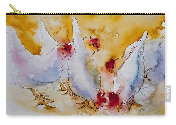 Chickens Feed Carry-all Pouch