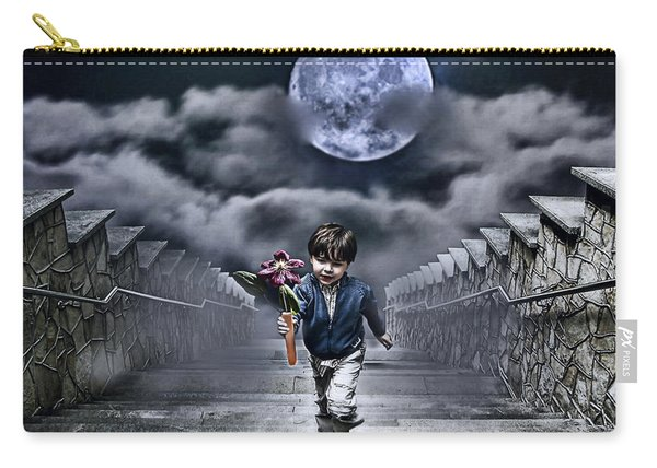 Child Of The Moon Carry-all Pouch
