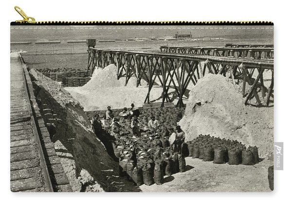 Chile Shipping, C1920 Carry-all Pouch