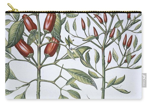 Chilli Pepper Plants Carry-all Pouch