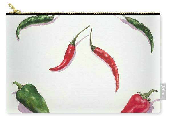 Chillies And Peppers Carry-all Pouch