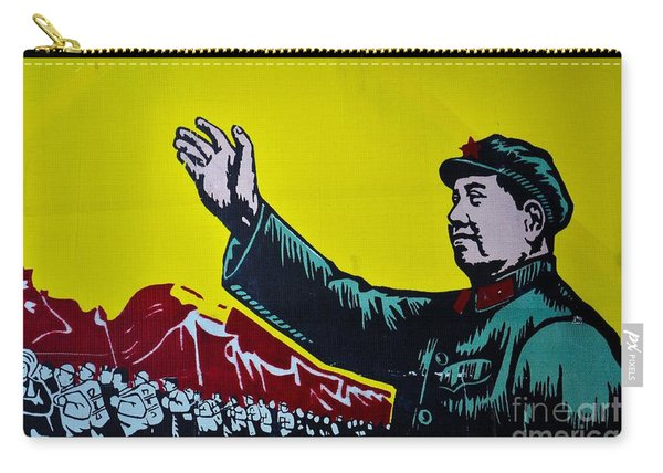 Chinese Communist Propaganda Poster Art With Mao Zedong Shanghai China Carry-all Pouch