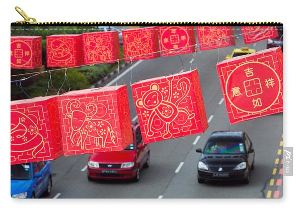 Chinese Lanterns Decoration Carry-all Pouch