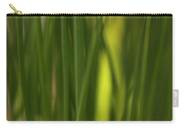 Sunlit Chives Carry-all Pouch