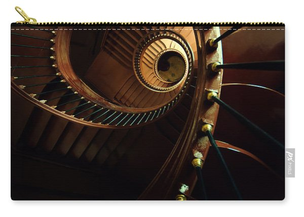 Carry-all Pouch featuring the photograph Chocolate Spirals by Jaroslaw Blaminsky