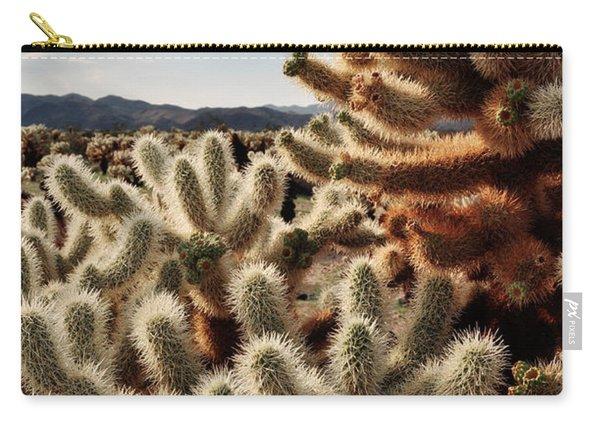 Cholla Teddy Bear Cactus Garden Magic Hour Carry-all Pouch