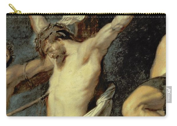 Christ Between The Two Thieves, 1620 Carry-all Pouch