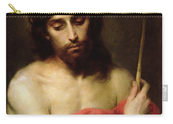 Christ The Man Of Sorrows Carry-all Pouch