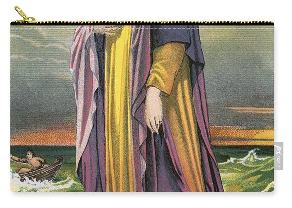 Christ Walking On Water Carry-all Pouch