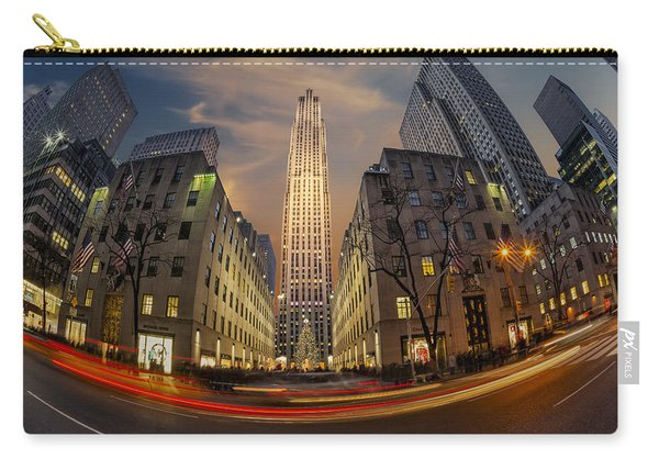 Christmas At Rockefeller Center Carry-all Pouch