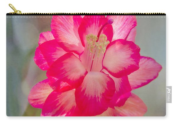 Christmas Cactus Bokeh Carry-all Pouch