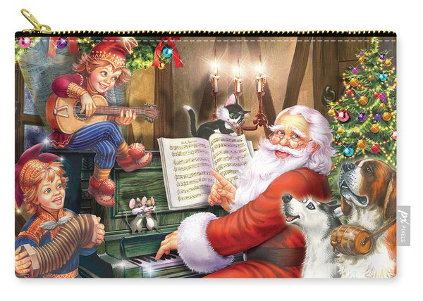 Christmas Carols Carry-all Pouch