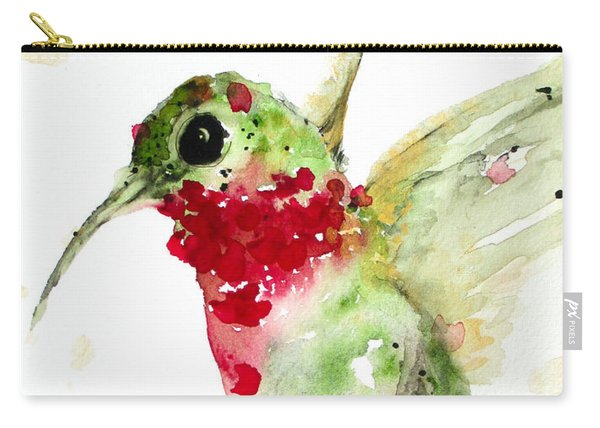 Christmas Hummer Carry-all Pouch
