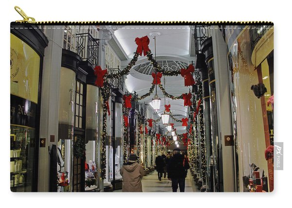 Christmas In Piccadilly Arcade Carry-all Pouch