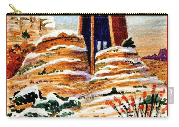 Christmas In Sedona Carry-all Pouch
