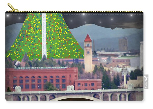Christmas In Spokane Carry-all Pouch