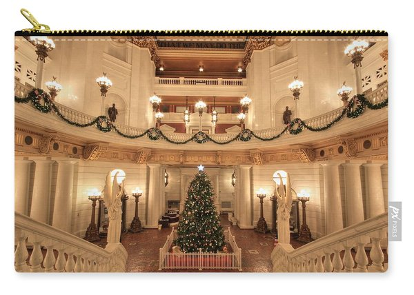 Christmas In The Rotunda Carry-all Pouch