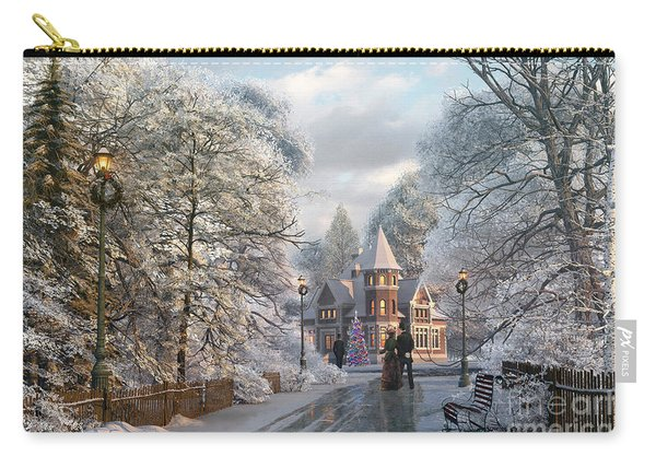 Christmas Invitation Carry-all Pouch