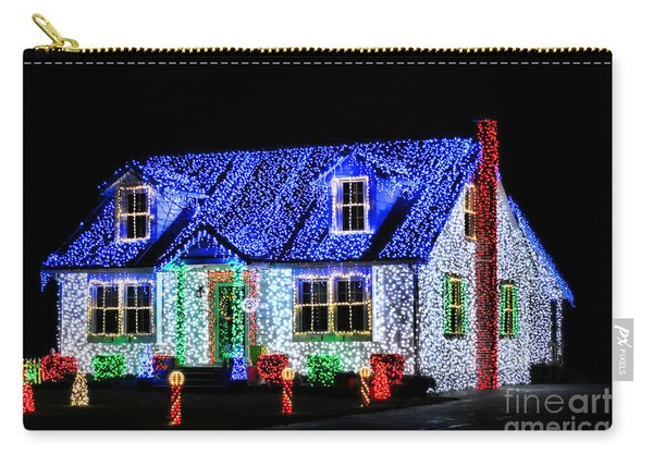 Christmas Lighthouse Carry-all Pouch