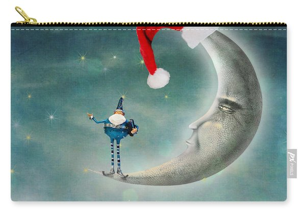 Christmas Moon Carry-all Pouch
