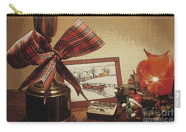 Christmas Still Life Carry-all Pouch
